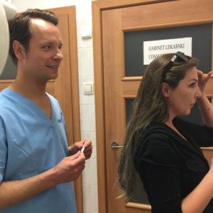 Konsultacja dotycząca botoxu w klinice Artplastica