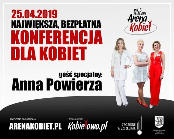 konferencja dla kobiet, Anna Powierza