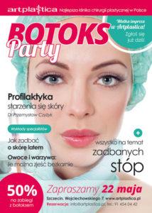 Artplastica zaprasza na Botoks Party