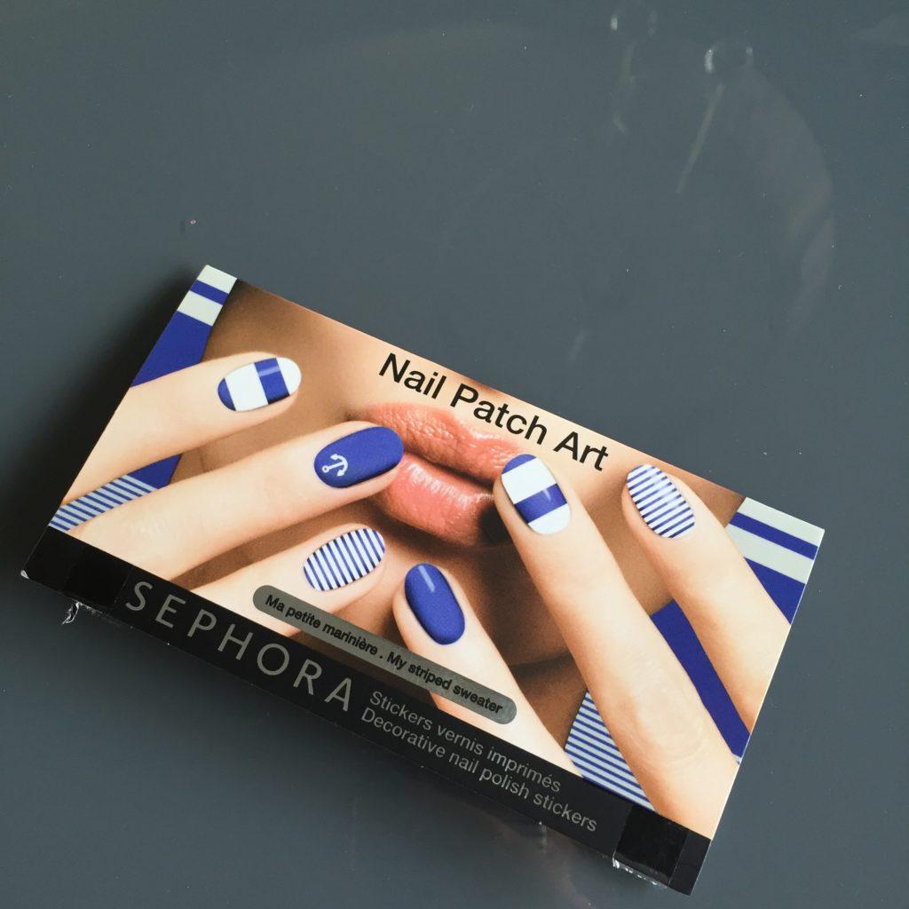 Zestaw naklejek Nail Patch Art