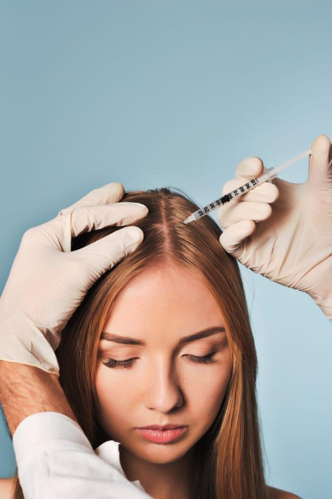 Mezoterapia skóry głowy i włosów