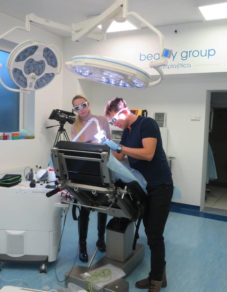 Zabieg NightLese - laserowe leczenie chrapania wykonany w klinice chirurgii plastycznej Beauty Group Artplastica