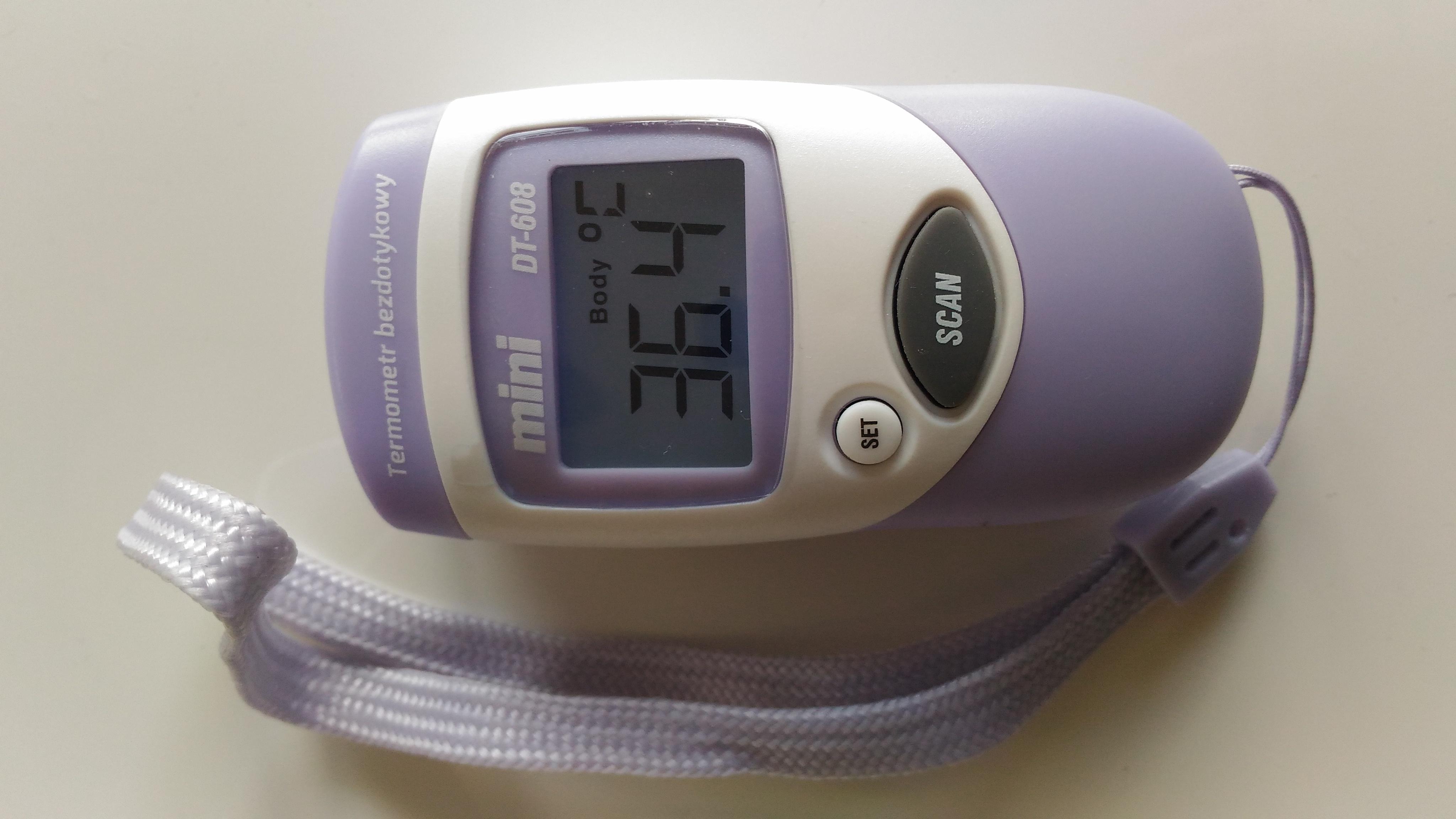 termometr bezdotykowy
