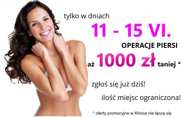 rabat na operację powiększenia piersi